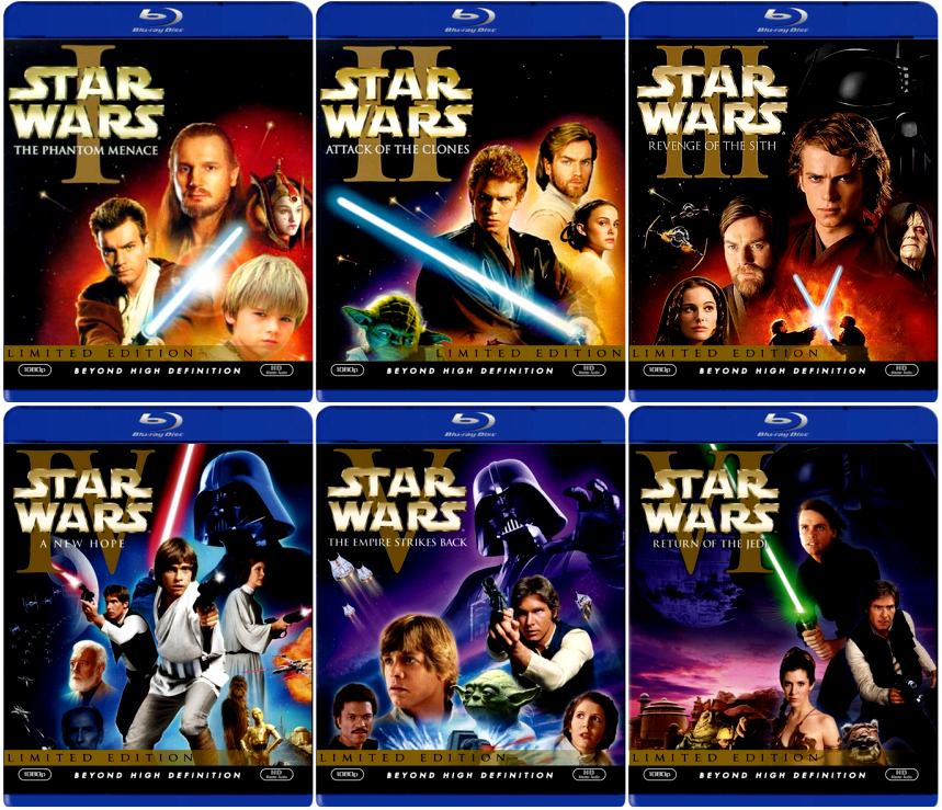 star wars saga gets the 39 lucas touch 39 once again blu ray release features more tweaks. Black Bedroom Furniture Sets. Home Design Ideas