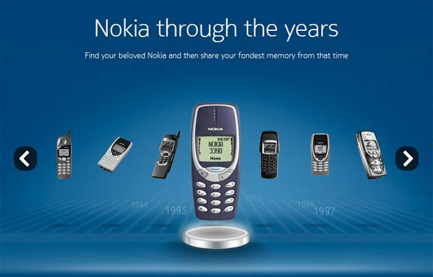Nokia Rolls Out The Classics In Time Machine Facebook