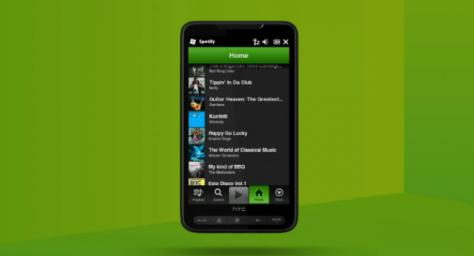 Spotify Now Available On Windows Phone 7