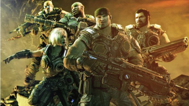If theres a Gears of War movie He should play Marcus Fenix