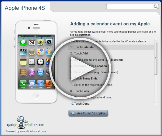 apple iphone 4s interactive guide an online manual to your apple rh gadgethelpline com apple iphone 4s manual guide apple iphone 4s manual user guide pdf