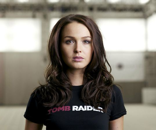 Tomb Raider 2013 British Actress Camilla Luddington Cast As New