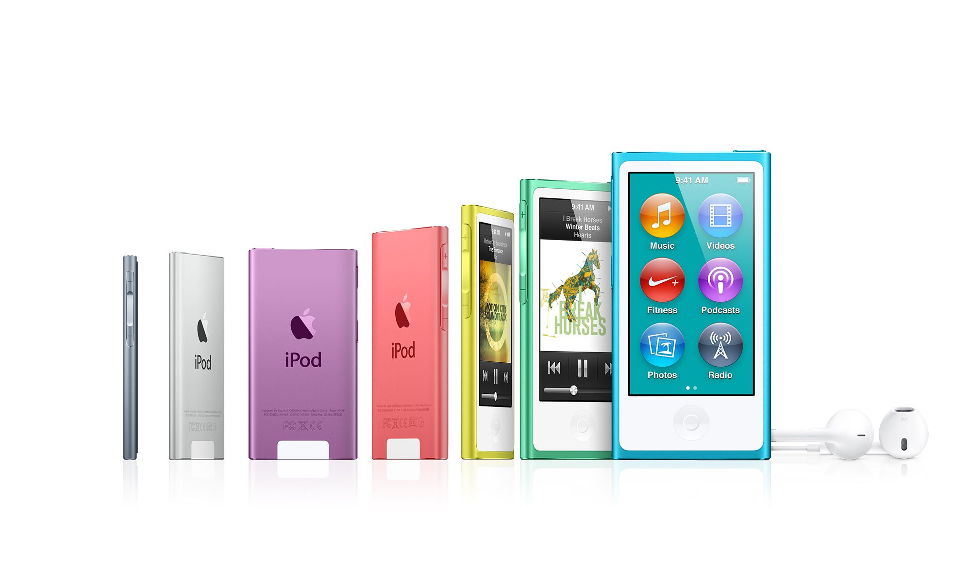 apple ipod touch 5th gen and ipod nano 7th gen arriving. Black Bedroom Furniture Sets. Home Design Ideas