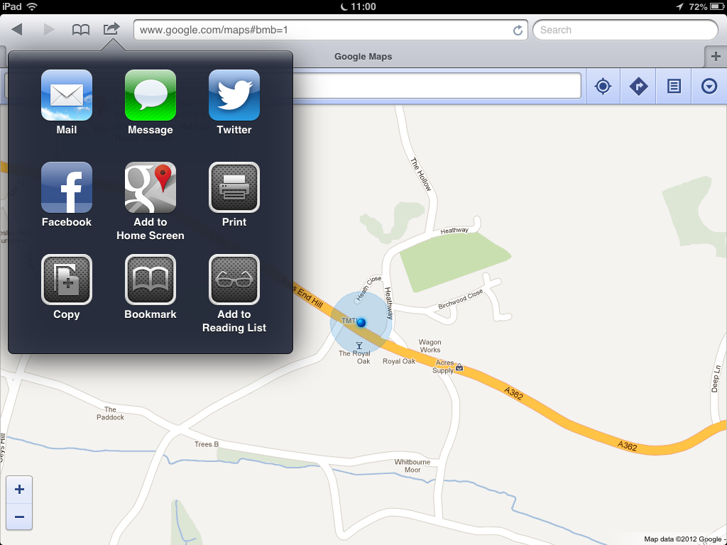 How to get Google Maps with Street View on iOS 6