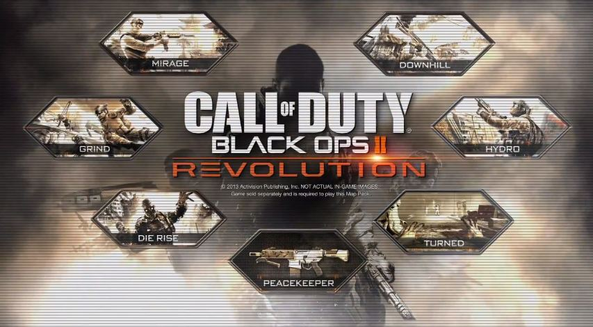Activision confirms Black Ops 2 Revolution DLC New Maps, Zombie Maps on