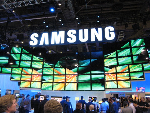 Samsung Expo Booth