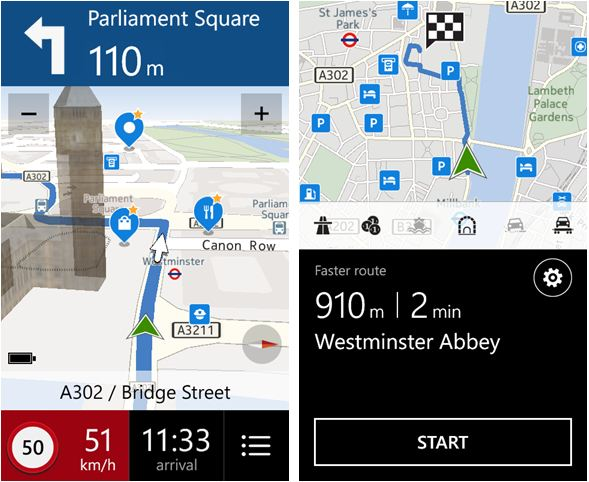 nokia here maps and drive beta apps now available on htc 8x and other windows phones. Black Bedroom Furniture Sets. Home Design Ideas
