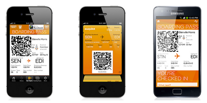 No More Paper Easyjet Puts Boarding Passes On Apple Passbook And