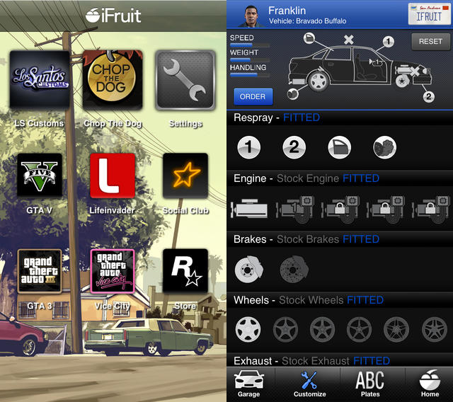 GTA V Companion App 'iFruit' Launched For IOS