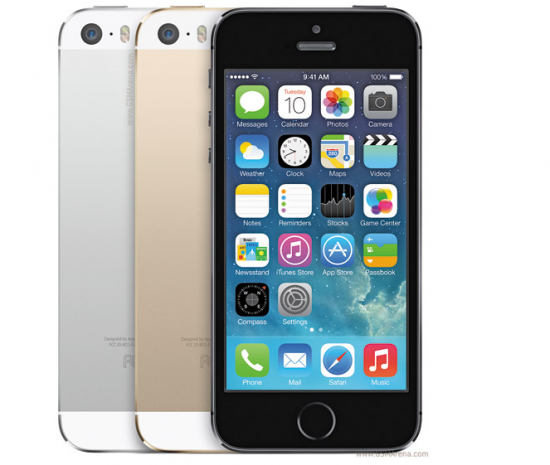iPhone 5S Colours 2