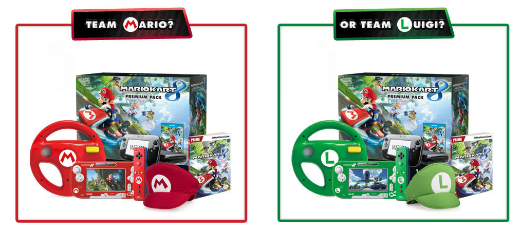 88582fa696a Special Edition Mario Kart 8 Wii U Premium Packs Announced!