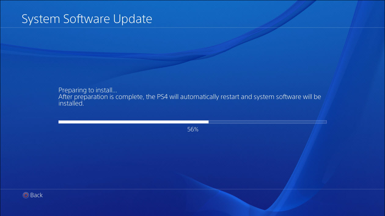 updates download ps4 not will