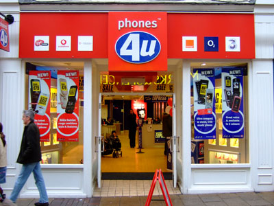 Phones4U stores have been shut since last week.