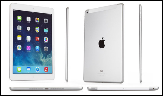 Leaked profile of the alleged iPad Air 2.