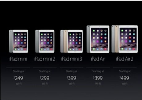 MAssive: Apple's current iPad range speaks of the company's desire to get their products out to almost every user with every budget.