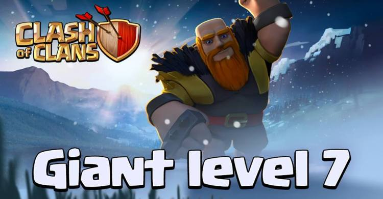 Clash of clans releases winter update lv7 giants lv12 mines and new