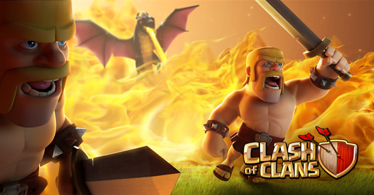 clash of clans barbs and dragons
