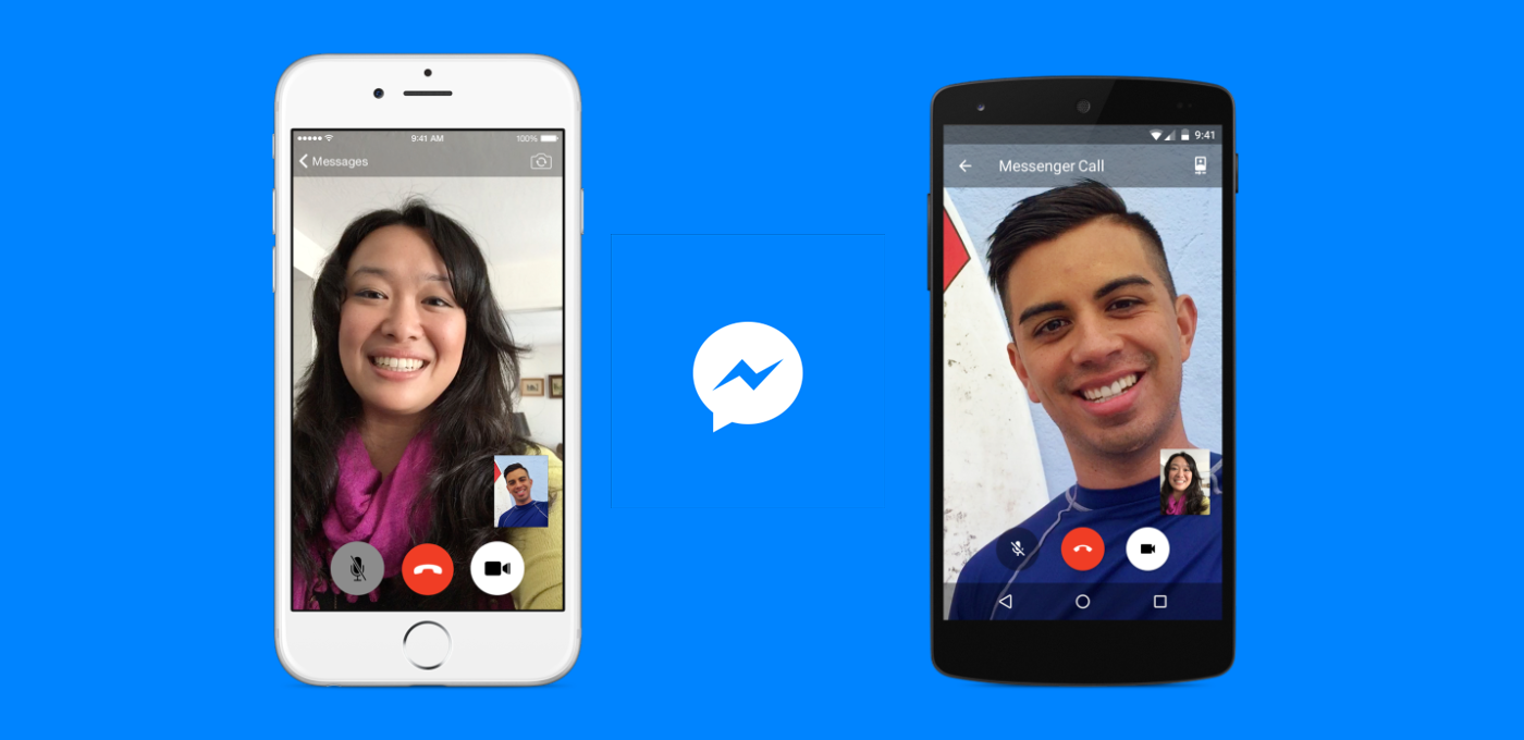 facebook messenger updates to include free video calls. Black Bedroom Furniture Sets. Home Design Ideas