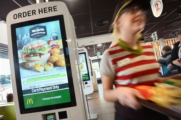 Mcdonald S Trialling Digital Ordering And Table Service