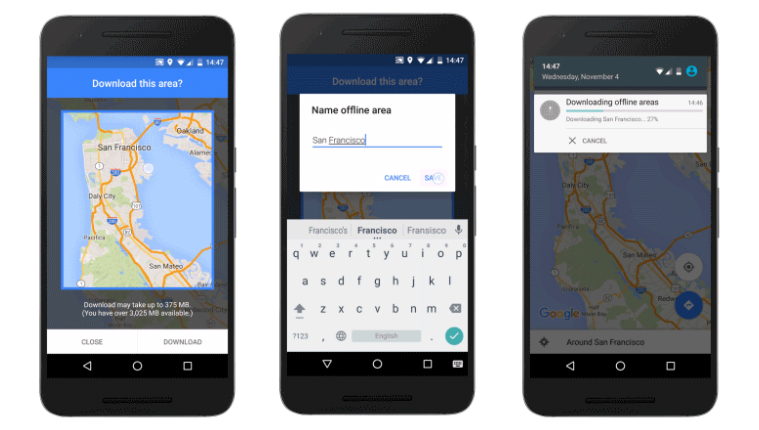 Google Maps Offline Mode Arrives on Android on google maps pacific northwest, google maps batman, google maps app, google maps 2014,