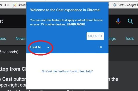 castchrome1-550x364 Casting Browser Tabs with Chromecast – How To